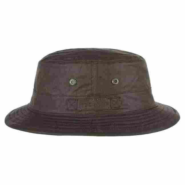 Anselmo Waxed Cotton Bucket Hat by Stetson 362b1c77448