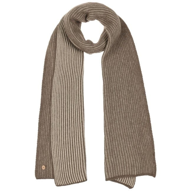 Winter stripe cashmere scarf for men